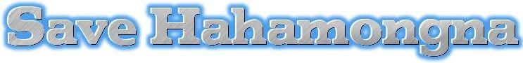 Save Hahamongna Logo